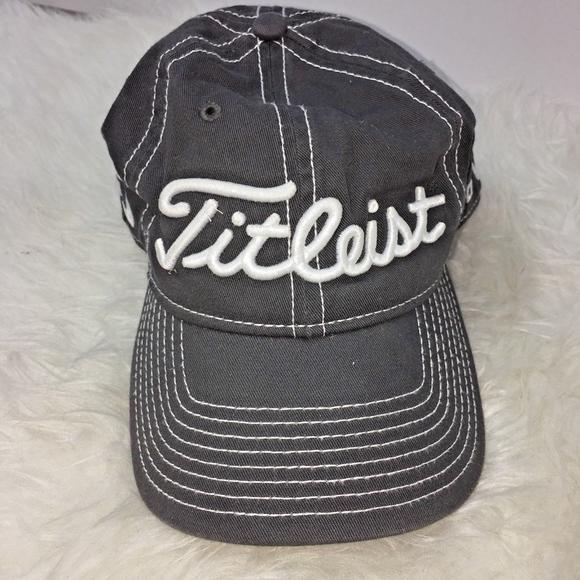 806ff3de03c ... FootJoy Golf Cap Gray Adjustable. M 5bc41db6819e90f3c7ffc08e
